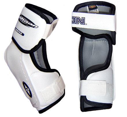 Bílý hokejový chránič loktů - junior Easton - velikost L