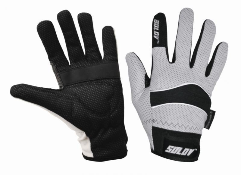 Rukavice na běžky - Sulov běžkařské rukavice bílé - S