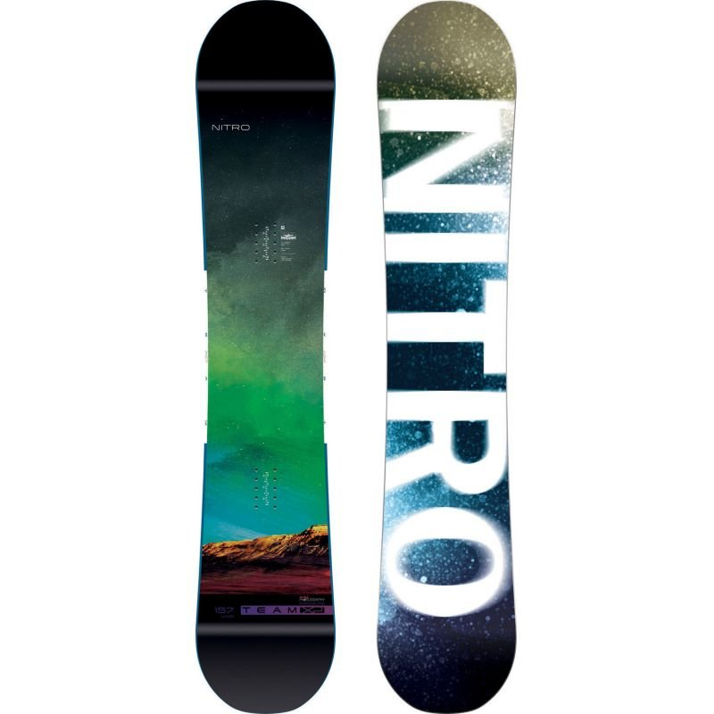 Snowboard bez vázání Nitro - délka 157 cm