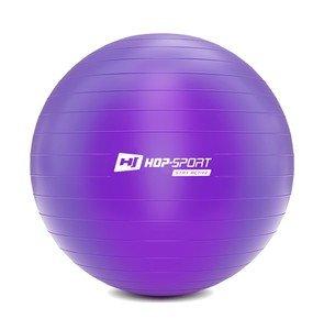 Fialový gymnastický míč Hop-Sport - průměr 75 cm
