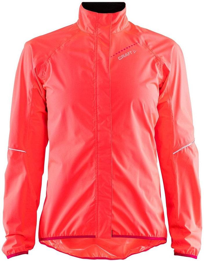 Růžová dámská cyklistická bunda Craft - velikost S