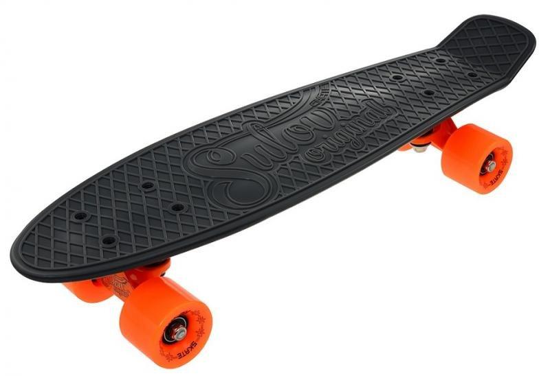 """Pennyboard - Penny board 22"""" SULOV RETRO VENICE šedo-oranžový"""