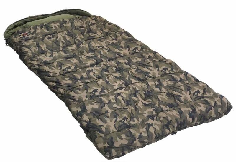 Maskáčový spací pytel Zfish - délka 220 cm