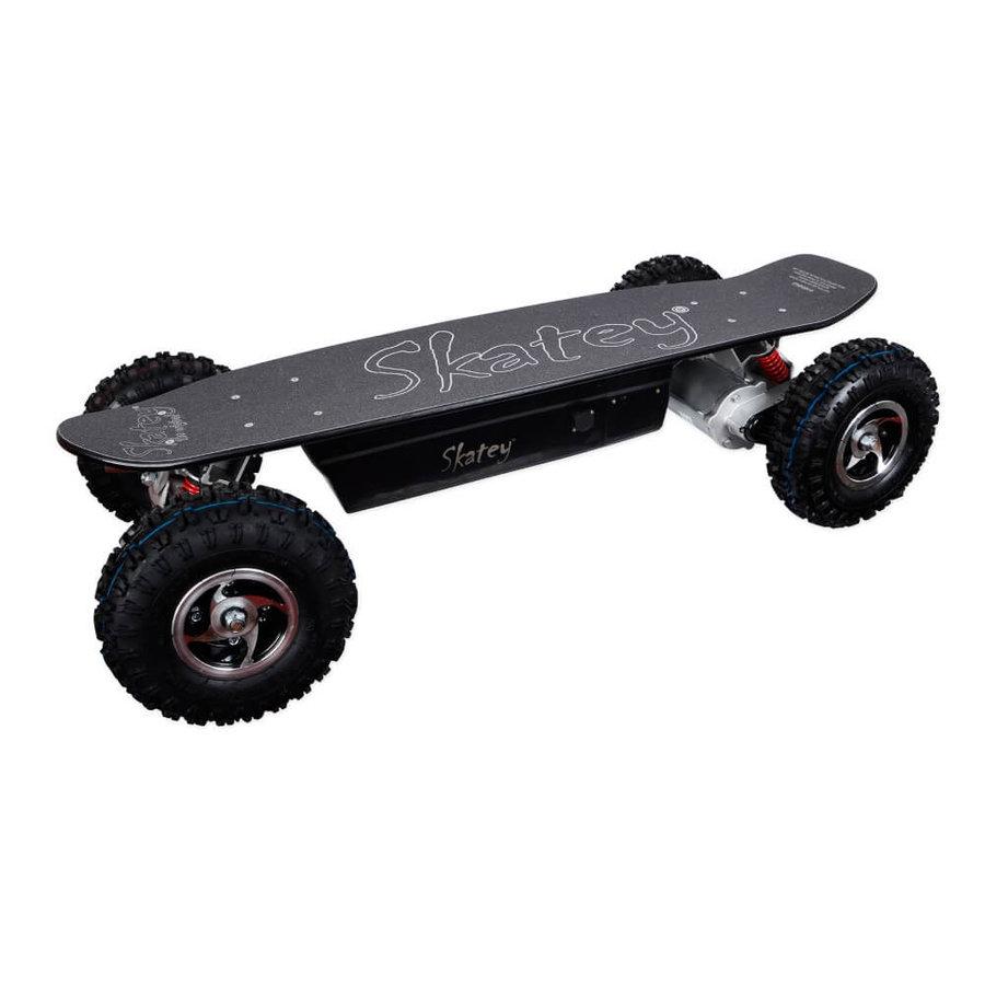 Elektro longboard - Elektrický longboard Skatey 800 Off-road černý