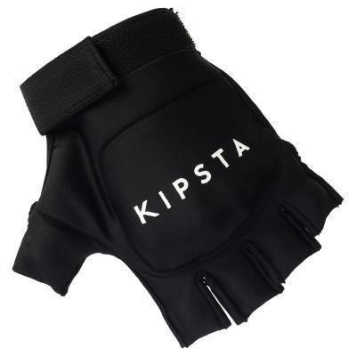 Černé rukavice na pozemní hokej Kipsta