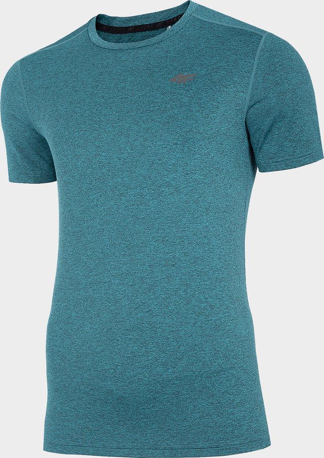 Zelené pánské funkční tričko s krátkým rukávem 4F