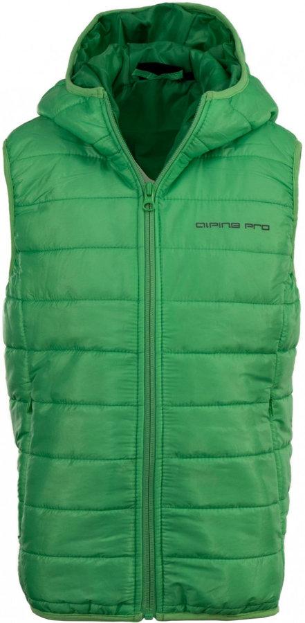 Zelená dětská vesta Alpine Pro
