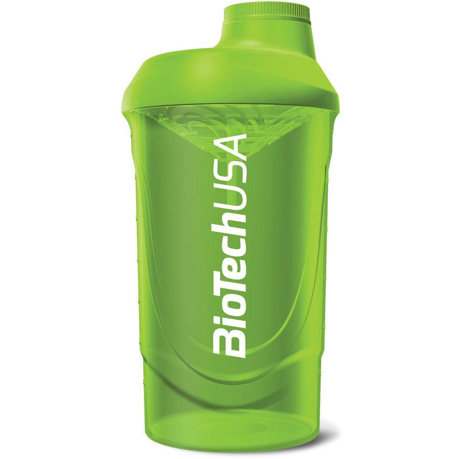 Zelený shaker BioTech USA - objem 600 ml