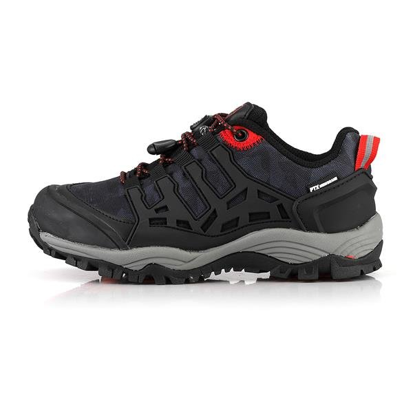 Černé dětské trekové boty Alpine Pro