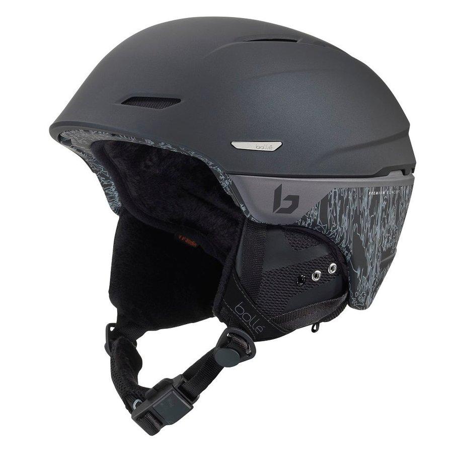 Černá dámská lyžařská helma Bollé - velikost 54-58 cm