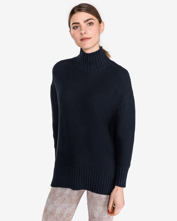 Modrý dámský svetr French Connection