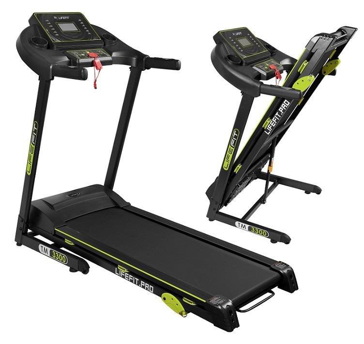 Běžecký pás TM3300, Lifefit - nosnost 120 kg