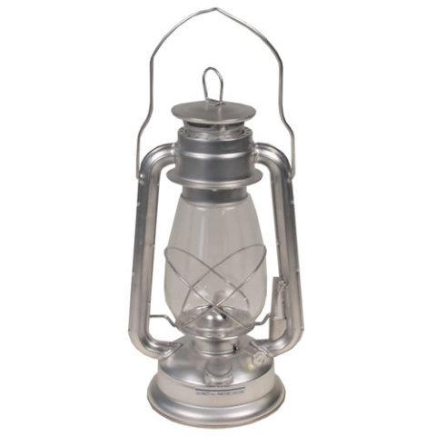 Stříbrná petrolejová lampa MFH int. comp