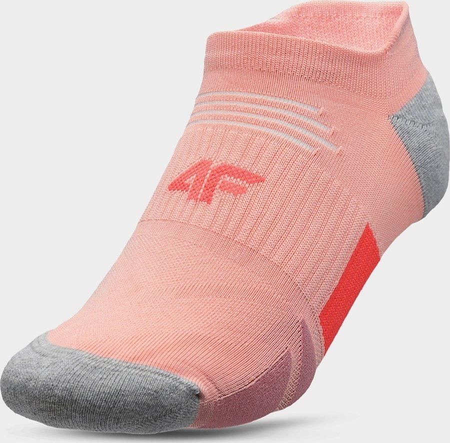 Růžové pánské ponožky 4F - velikost 35-38 EU