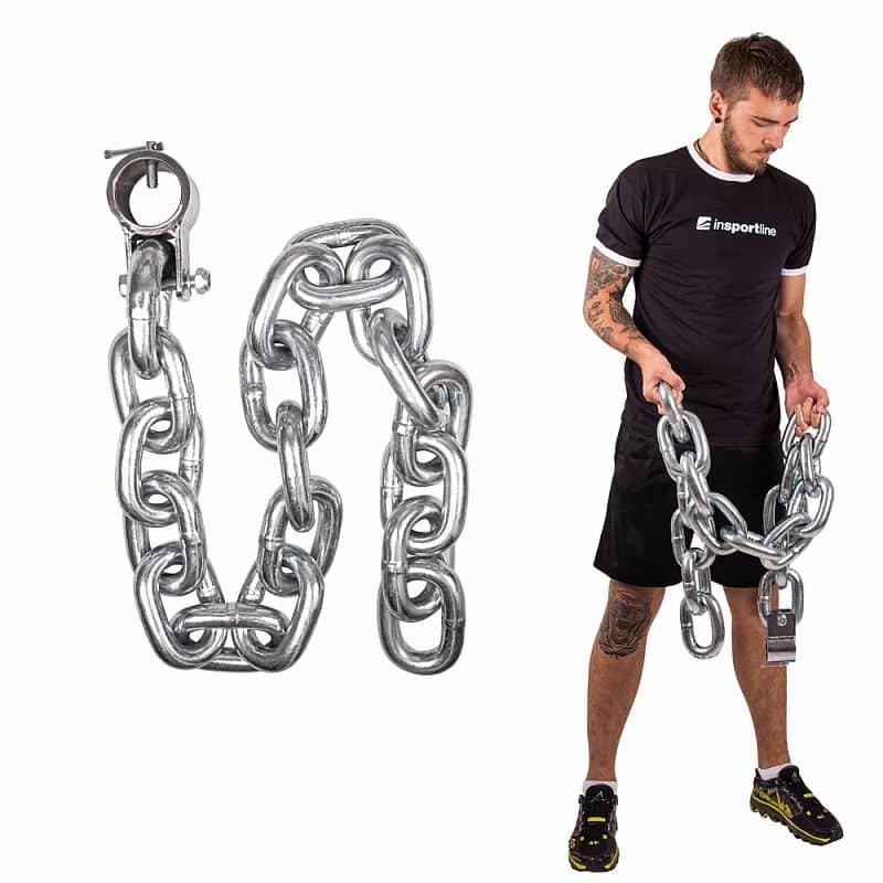 Vzpěračský řetěz inSPORTline - 20 kg