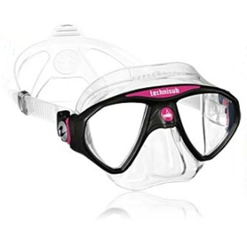 Růžová potápěčská maska MicroMask, TECHNISUB