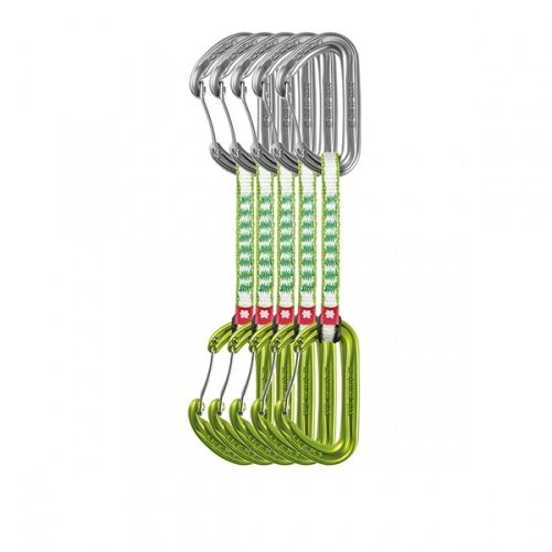 Expreska - Ocún Hawk QD wire DYN 11mm 10cm 5-pack (Green) - Ocún
