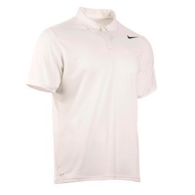 Bílé pánské tenisové tričko Nike