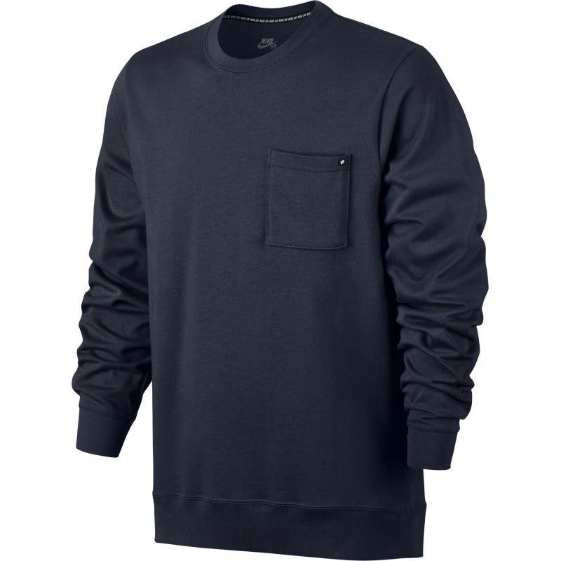 Černá pánská mikina bez kapuce Nike - velikost S