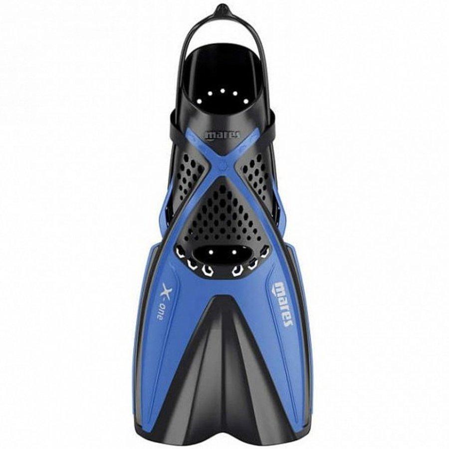 Černo-modré potápěčské krátké ploutve X-ONE JUNIOR, Mares - velikost XS
