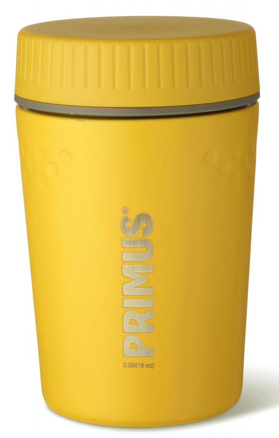 Žlutá termoska na jídlo Primus - objem 0,55 l