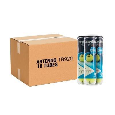 Žlutý tenisový míček TB920, Artengo - 72 ks