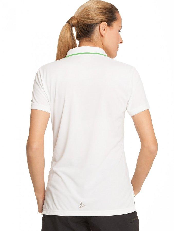 Černé dámské funkční tričko s krátkým rukávem Craft - velikost L
