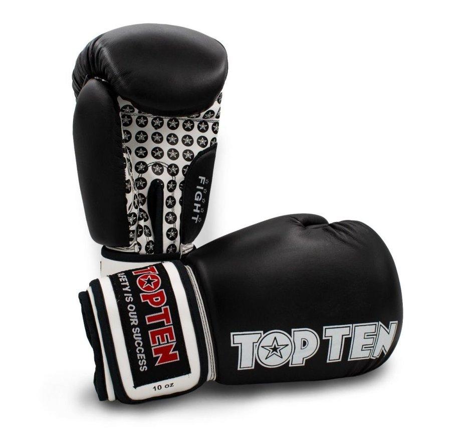 Černé boxerské rukavice Top Ten
