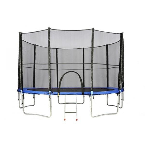 Kruhová trampolína s ochrannou sítí Athletic24 - průměr 366 cm
