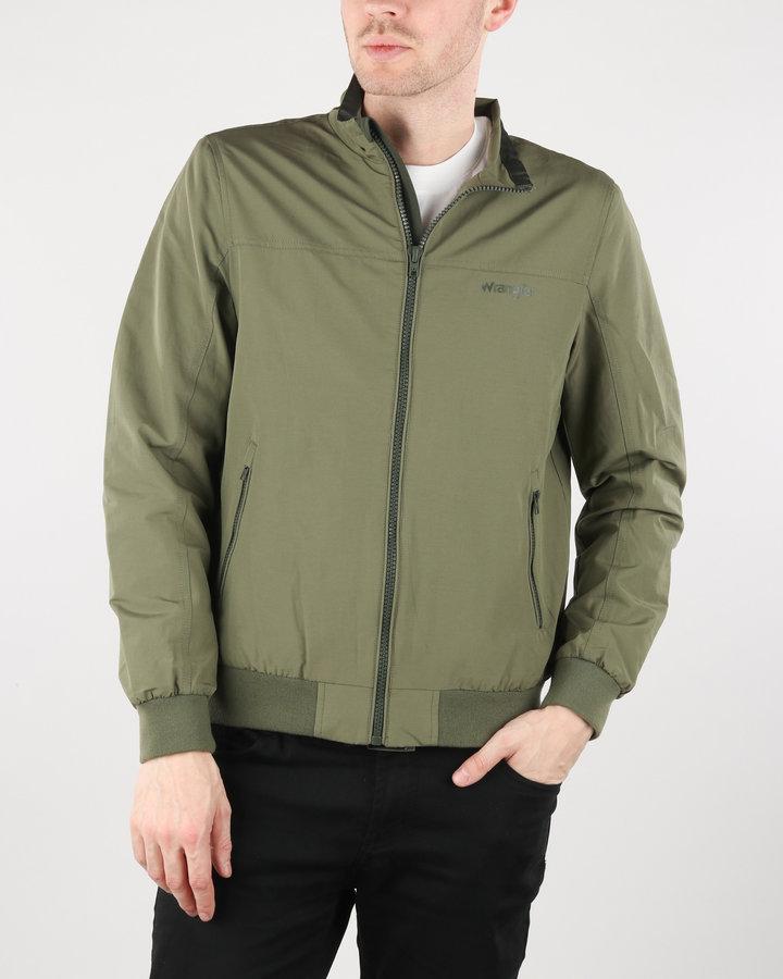 Zelená pánská bunda Wrangler