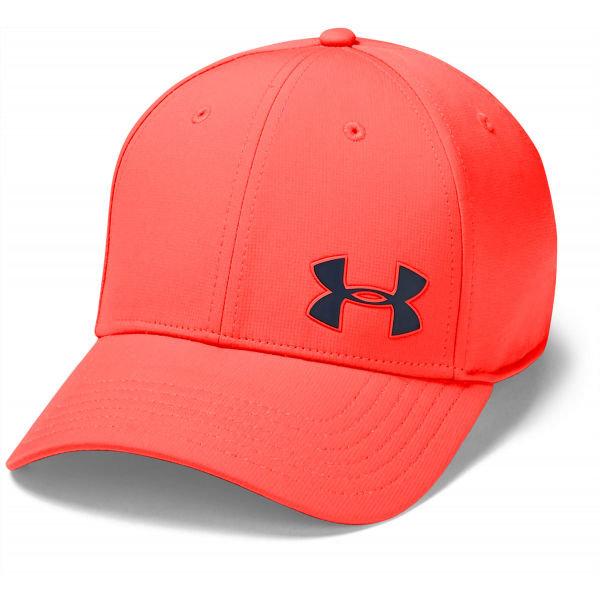 Červená pánská golfová kšiltovka Under Armour