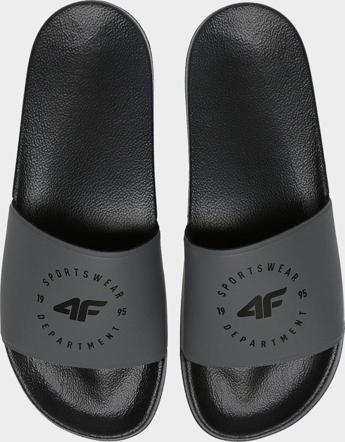 Šedé pánské pantofle 4F