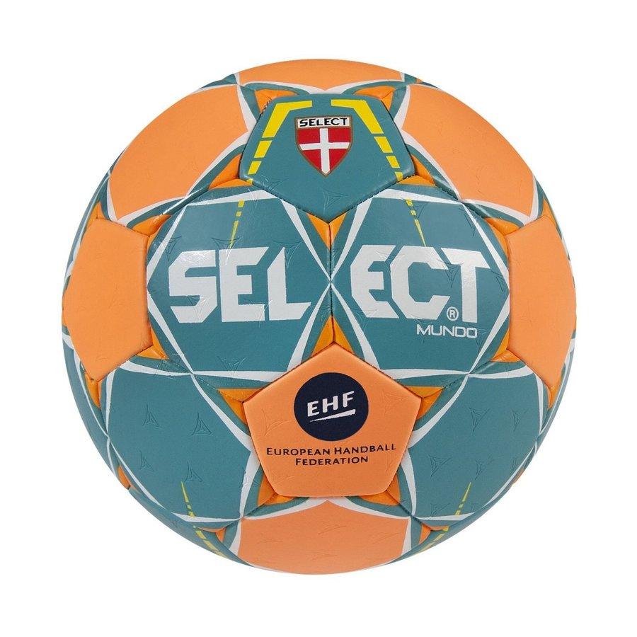 Modro-oranžový míč na házenou MUNDO, Select - velikost 3