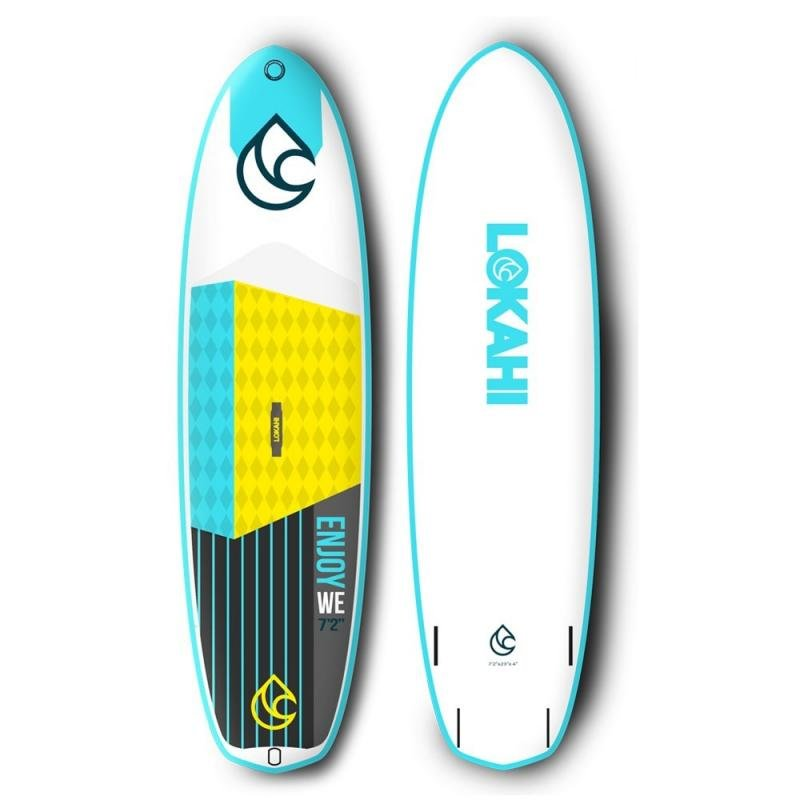 "Paddleboard - paddleboard LOKAHI W.E.Enjoy KID 7'2"" white/blue"