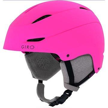 Růžová dámská lyžařská helma Giro - velikost M