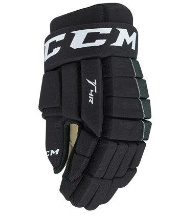 """Modré hokejové rukavice - junior Tacks 4R, CCM - velikost 11"""""""