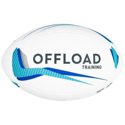 Bílý míč na ragby R300, Offload - velikost 4