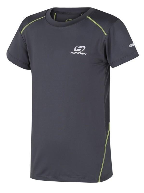 Šedé dětské tričko s krátkým rukávem Hannah - velikost 140