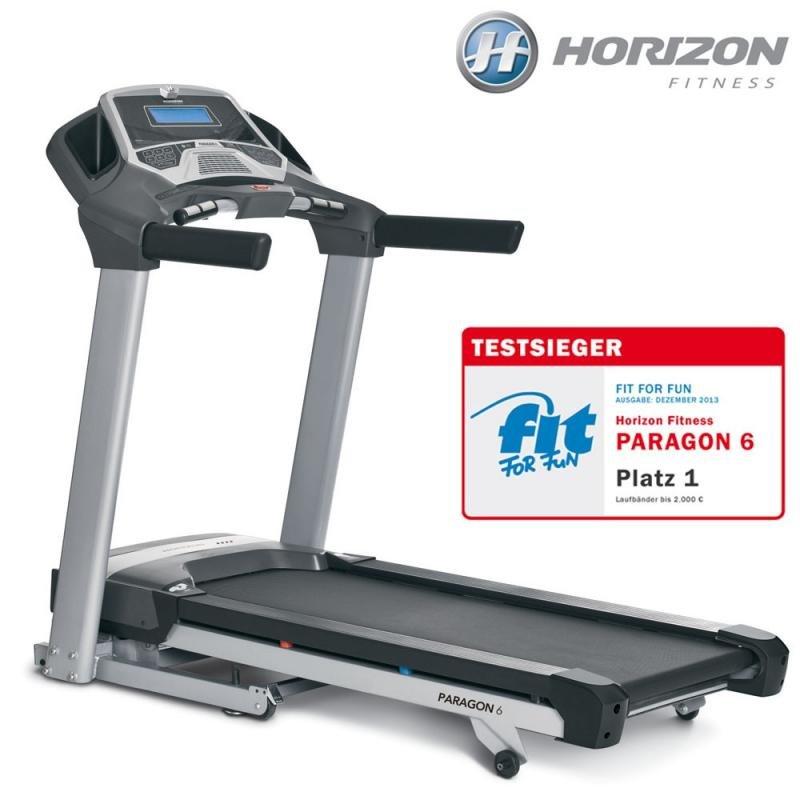 Běžecký pás HORIZONFITNESS - nosnost 159 kg