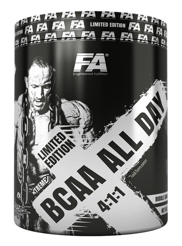 BCAA - BCAA All Day 4: 1: 1 - Fitness Authority 340 g Bubble Gum