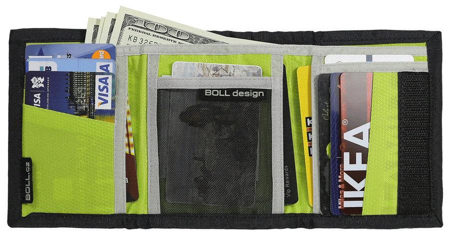 Černo-šedá dámská peněženka Boll