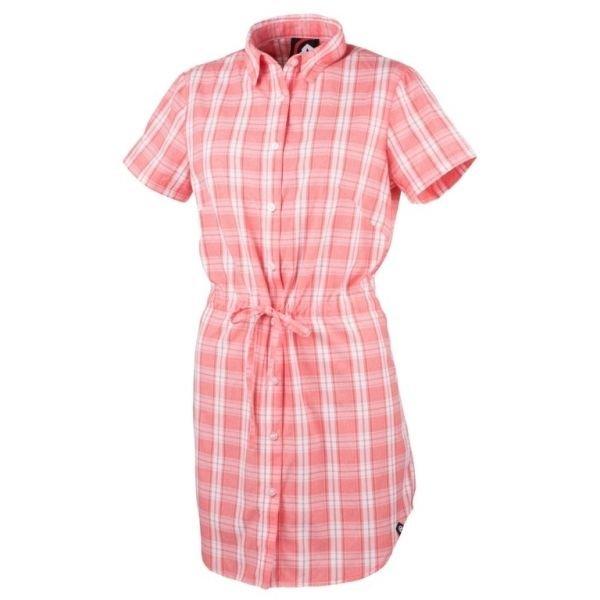 Růžová dámská košile s krátkým rukávem NorthFinder