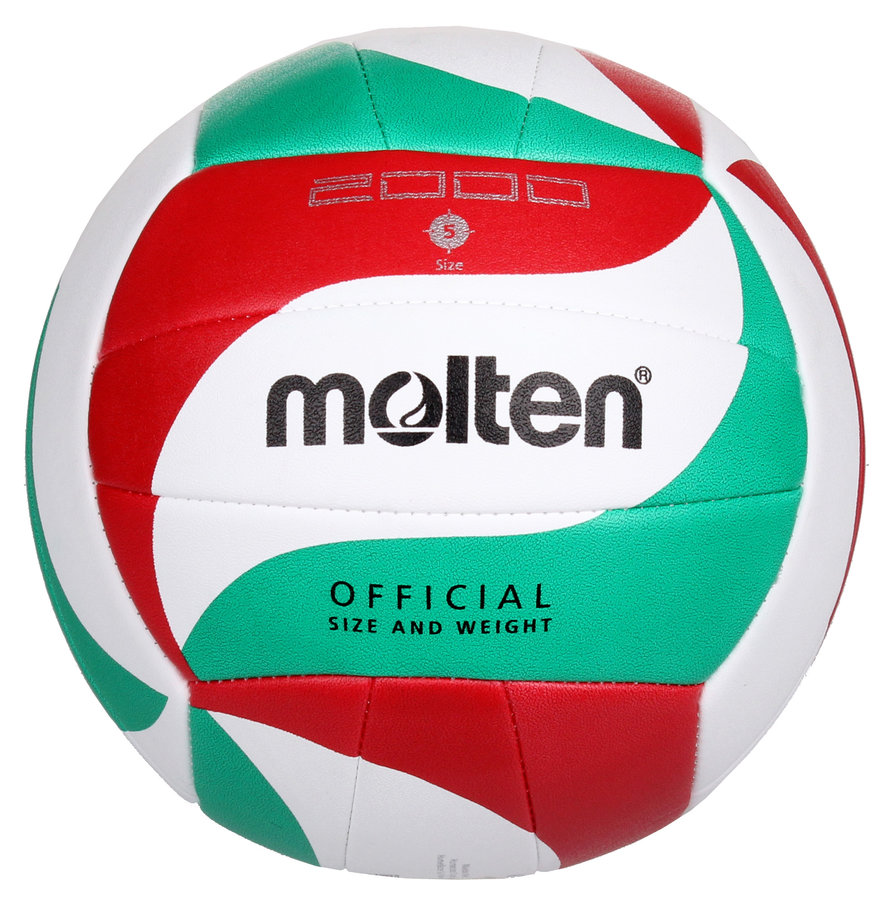 Různobarevný volejbalový míč V5M2000, Molten - velikost 5