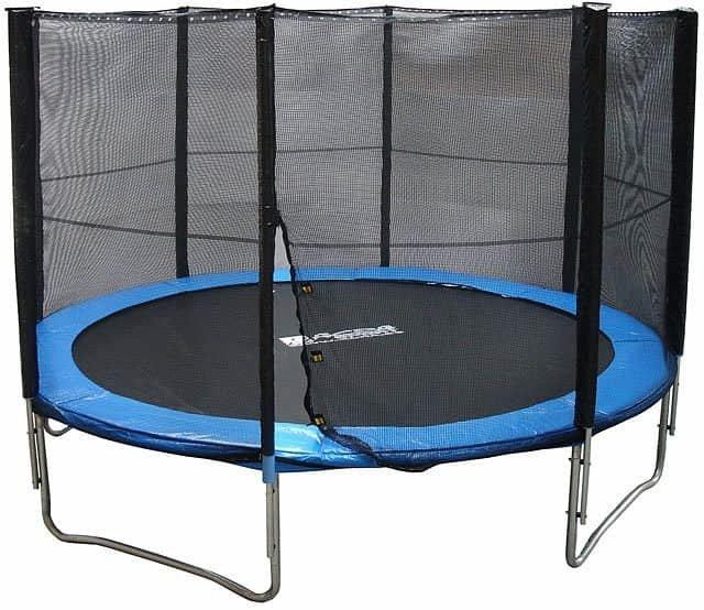 Kruhová trampolína s ochrannou sítí Acra - průměr 429 cm