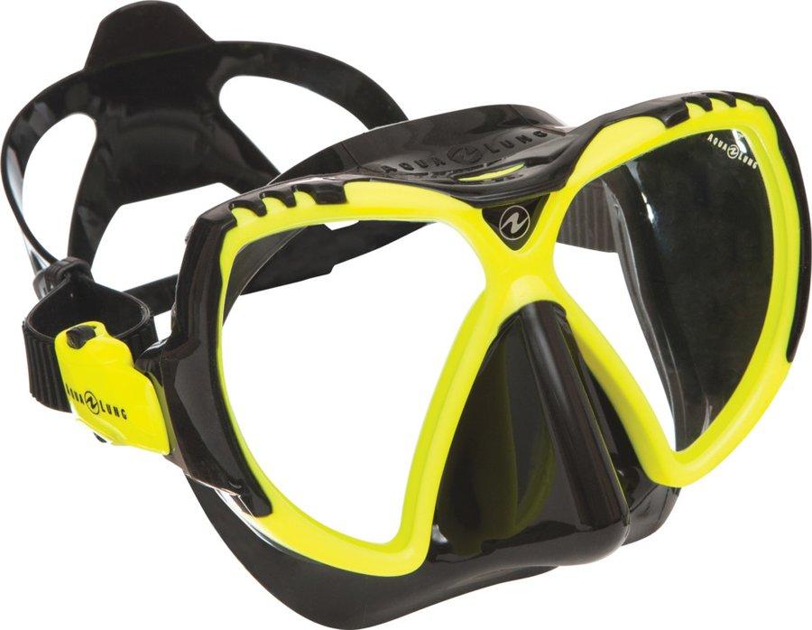 Potápěčská maska - Potápěčská maska (brýle) MISSION black Aqualung