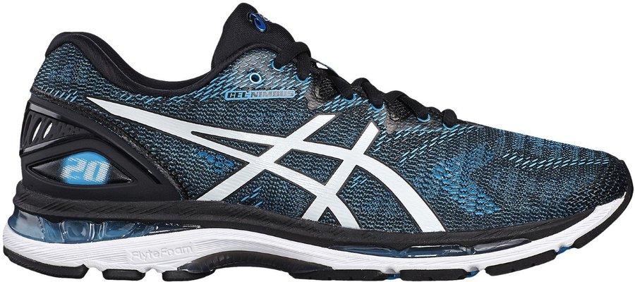 Černo-modré pánské běžecké boty Asics - velikost 40 EU