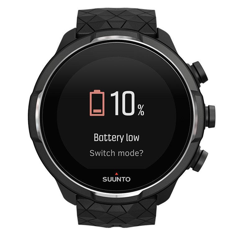 Černé digitální sportovní chytré hodinky 9 Baro, Suunto