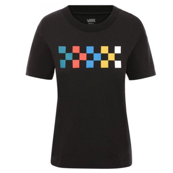 Černé dámské tričko s krátkým rukávem Vans
