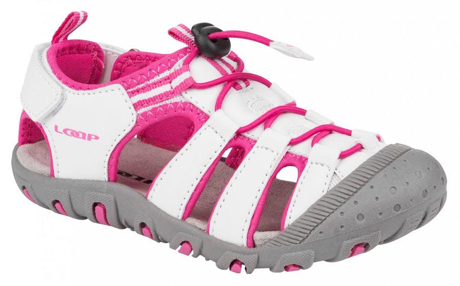 Bílé dětské sandály Loap