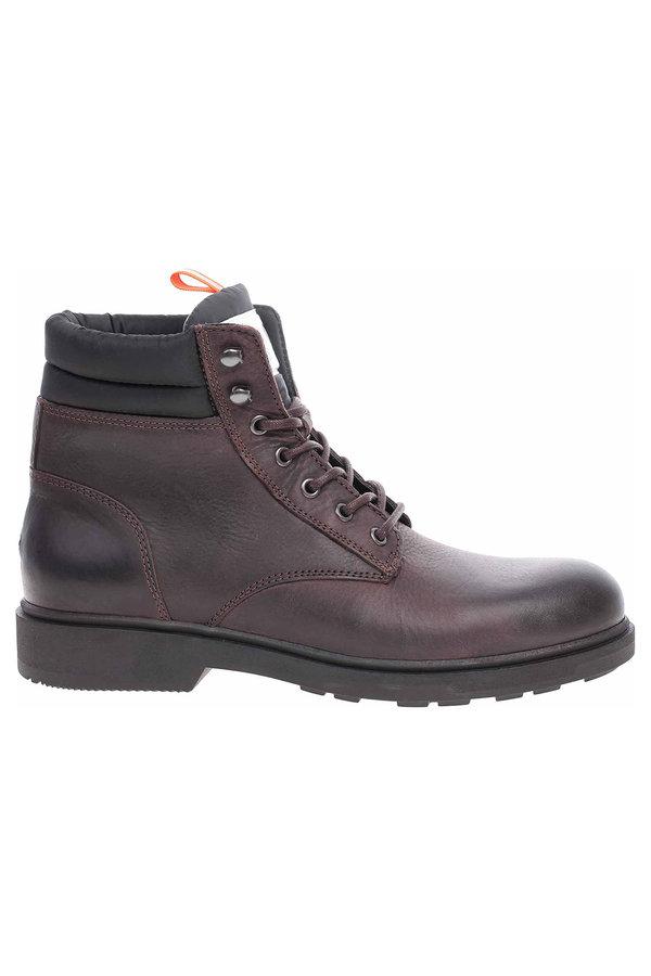 Hnědé pánské kotníkové boty Tommy Hilfiger